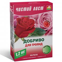 Минеральное удобрение «Чистый лист» для роз 1,2 кг