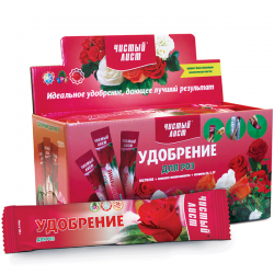 Минеральное удобрение «Чистый лист» для роз 100 г