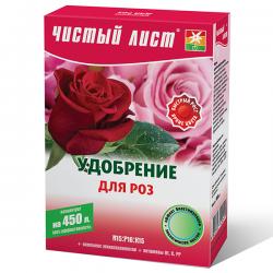 Минеральное удобрение «Чистый лист» для роз 300 г