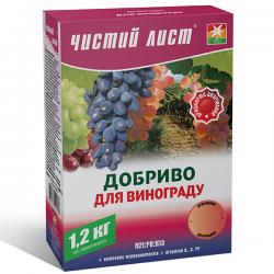 Минеральное удобрение «Чистый лист» для винограда 1,2 кг