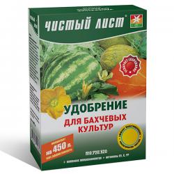 Минеральное удобрение «Чистый лист» для бахчевых культур 300 г