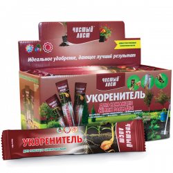 Минеральное удобрение «Чистый лист» укоренитель для саженцев, семян и рассады 100 г