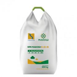 Комплексное минеральное удобрение NPK Makosh 5-10-15 500 кг (Fosfan)