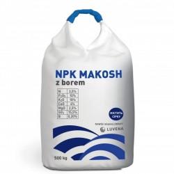 Комплексное минеральное удобрение с бором NPK Makosh 500 кг (Luvena)