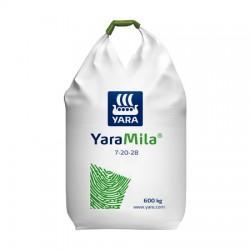 Минеральное удобрение Yara Mila NPK 7-20-28 600 кг