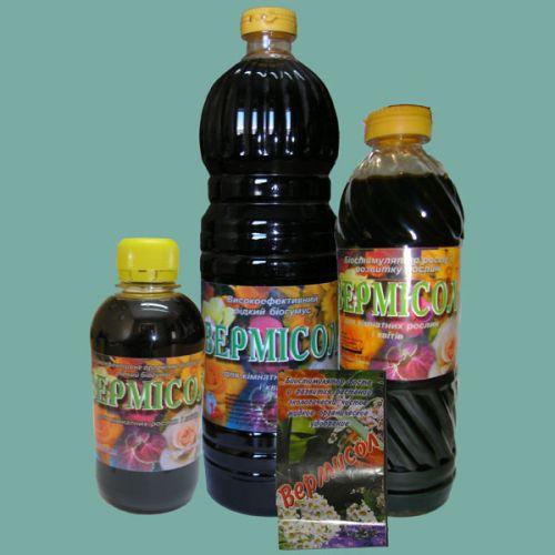 Биологическое удобрение Вермисол для цветов и комнатных растений 0,5 л