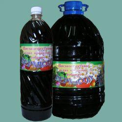 Жидкое биоудобрение Вермисол для подкорневого питания 5 л
