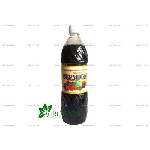 Жидкое органическое удобрение Вермисол для сада и огорода 1 л